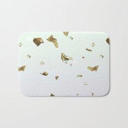 Gold Flakes Bath Mat
