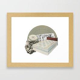 Men's Series: Traps Framed Art Print