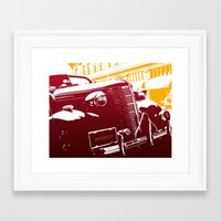 law Framed Art Prints featuring The Law by Steel Graphics