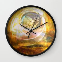 EXPLORERS ONLY / The Biggest Spatial Eye / 26-08-16 Wall Clock