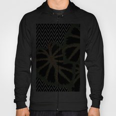 Chevron Black Hoody