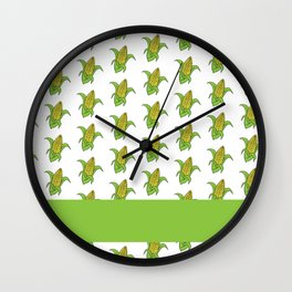 On The Cob Wall Clock