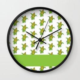 On The Cob Wall Clock