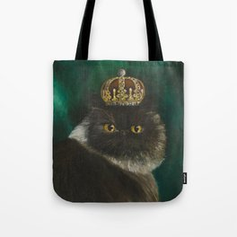 DONETE, A FANCY CHOCOLATE PERSIAN CAT Tote Bag