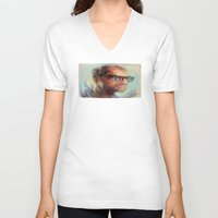 christian V-neck T-shirts featuring Christian Gerhartsreiter by robotrake