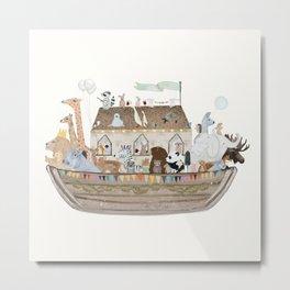 little ark Metal Print