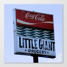 Little Giant Grocery Canvas Print