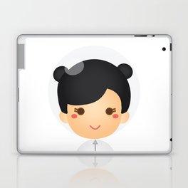 The Astro Girl Laptop & iPad Skin