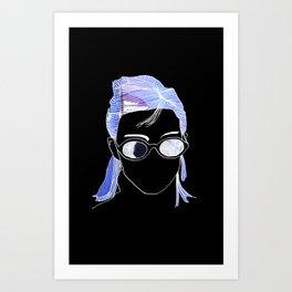 Generic Cool Girl Art Print