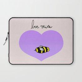 Bee Mine, Oh My Cliche Valentine Laptop Sleeve