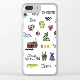 Garmisch Partenkirchen, Germany Clear iPhone Case