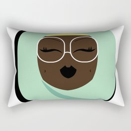 Jade Muslimah Rectangular Pillow