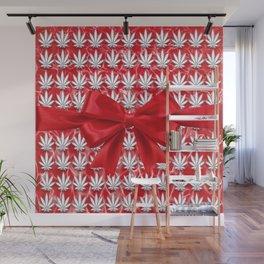 Merry Cannabis! Wall Mural