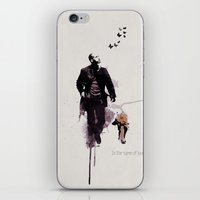 u2 iPhone & iPod Skins featuring Robert Neville by  Maʁϟ
