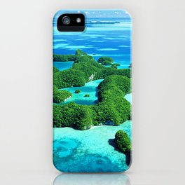 Palau Island Paradise iPhone Case