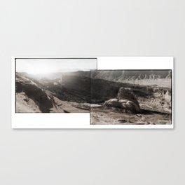 Utah Desert Dawn Canvas Print