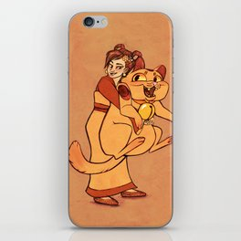 The Golden Cat iPhone Skin