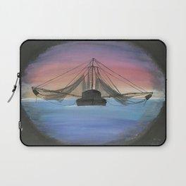 Shrimp Boat Laptop Sleeve