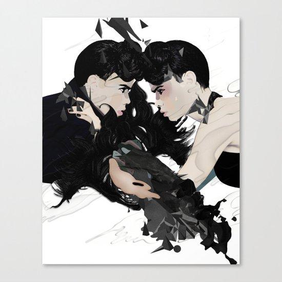 QUARREL Canvas Print