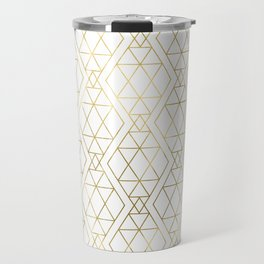 Modern Art Deco Geometric 1 Travel Mug