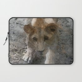 WColor Lioness Laptop Sleeve