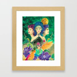 The Seeker Framed Art Print