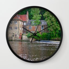 Fulling Mill House at Durham Wall Clock