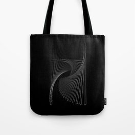 """""""Fly Collection"""" - Abstract Minimal Letter H Print Tote Bag"""