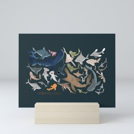 "FINconceivable Still ""Sharks"" Mini Art Print"