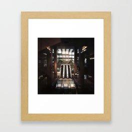 Mall Framed Art Print