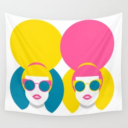 Glam Girls Wall Tapestry