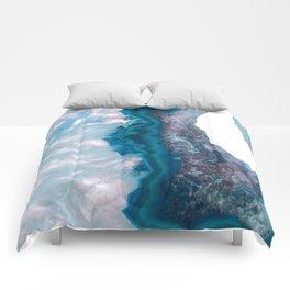Blue Crystal Slice Comforters