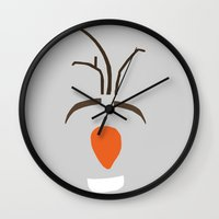 olaf Wall Clocks featuring Olaf by Yousef