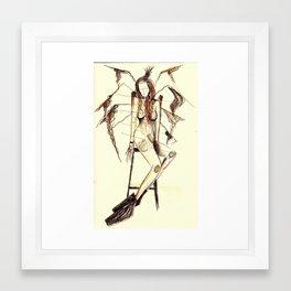 NORITAKA TATEHANA and Spoked Illustration  Framed Art Print