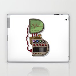 MACHINE LETTERS - B Laptop & iPad Skin