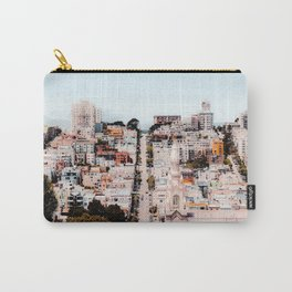 Road and building in the city at San Francisco California USA Carry-All Pouch