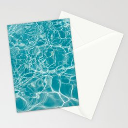 Blue Summer Water Stationery Cards