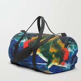 Mini World Environmental Blues 3 Duffle Bag