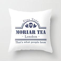 MoriarTea Throw Pillow