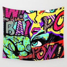 URBAN POP ART MASH-UP SERIES V.3 Wall Tapestry