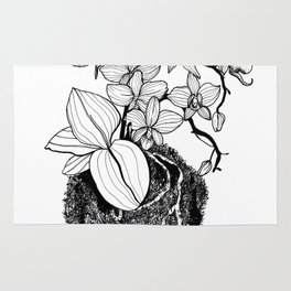 Orchid Kokedama Nr.1 Rug