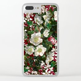 Midnight Garden XV Clear iPhone Case