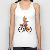 cycling Tank Tops featuring Sam's Cycling by BATKEI