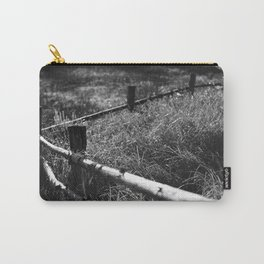 Black & White fance Carry-All Pouch