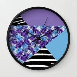 Purplehaze Wall Clock