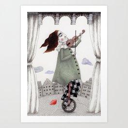Autumn Concert Art Print