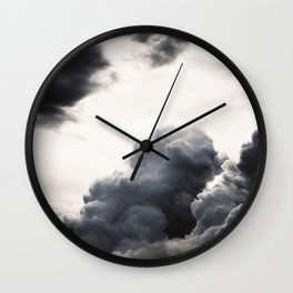 clouds pass by  Wall Clock