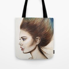 Ombre Hair Tote Bag