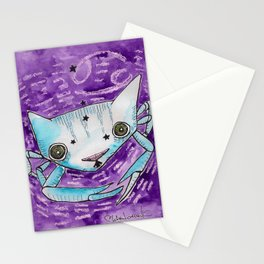 """""""Oro?"""" Cancer Stationery Cards"""