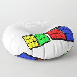 rubiks cube Floor Pillow